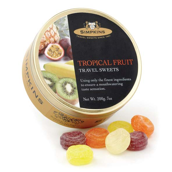 Simpkins Tropical Fruit Drops 6s