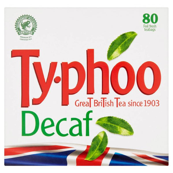 Typhoo Decaf Tea Bags 80's 250g