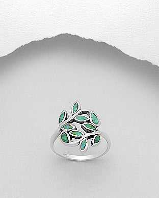 Branch and Leaf Ring