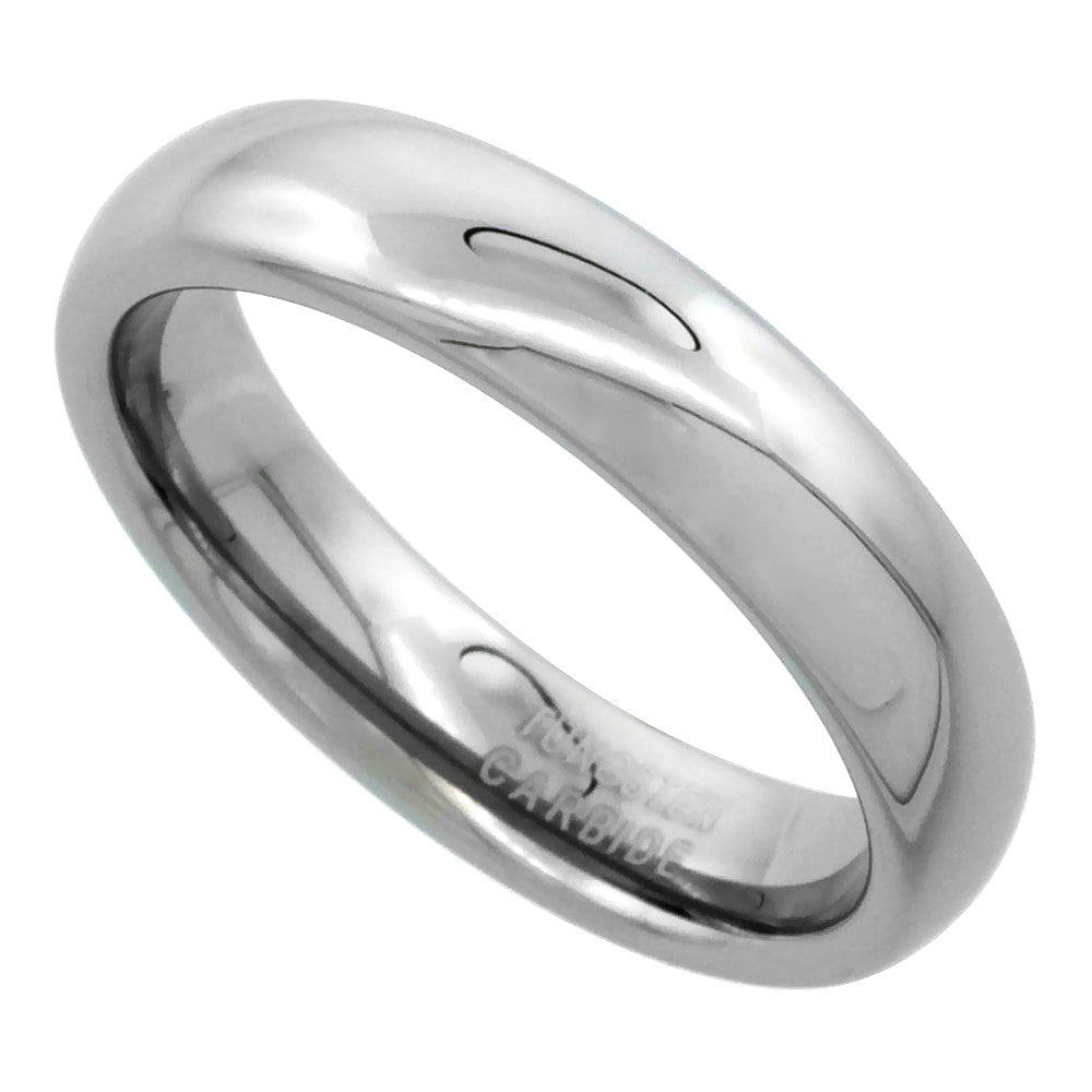 Tungsten Dome 6mm Ring