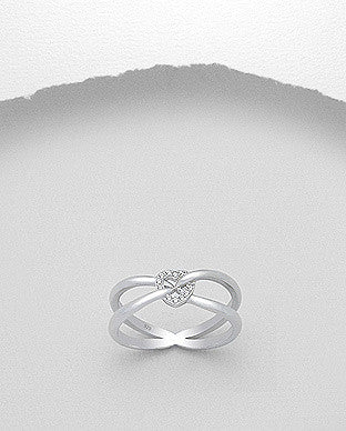 Together CZ Balance Ring
