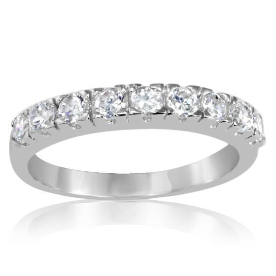 CZ Eternity Topper Ring