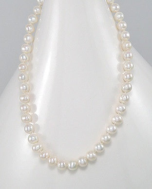 Fresh Water Pearl White Necklace 6mm