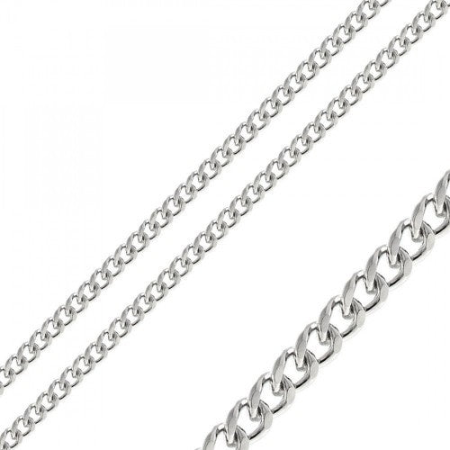 Stainless Steel Curb Chain 6mm