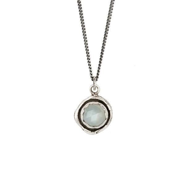 MOONSTONE FACETED STONE TALISMAN