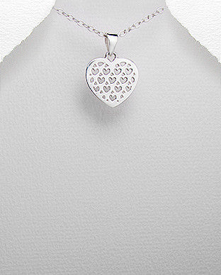 Heart Pattern Necklace