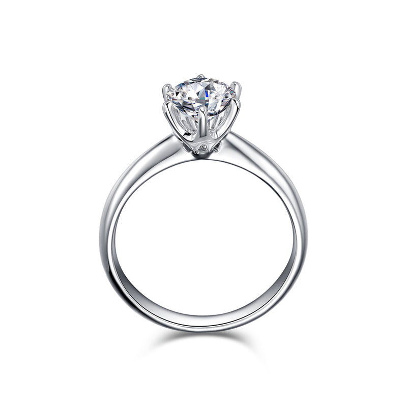 1.5 Carat CZ Stone Engagement Wedding Ring