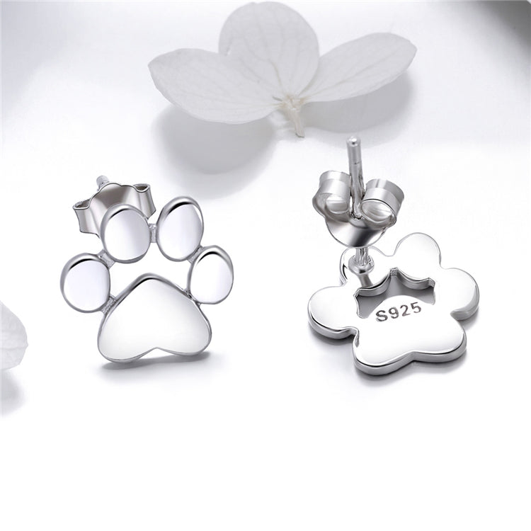 Smooth Paw Earrings