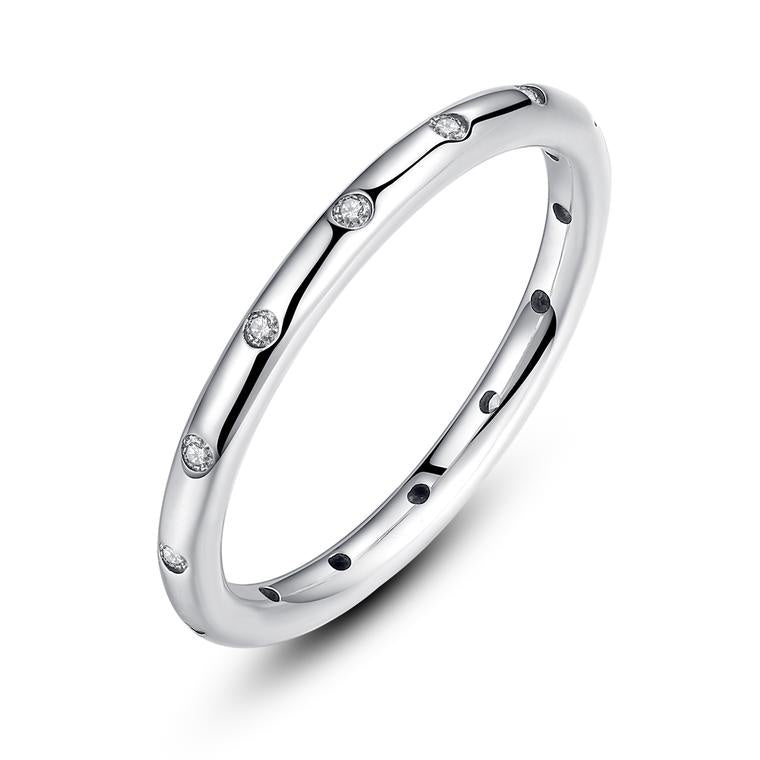 CZ Stackable Eternity Ring