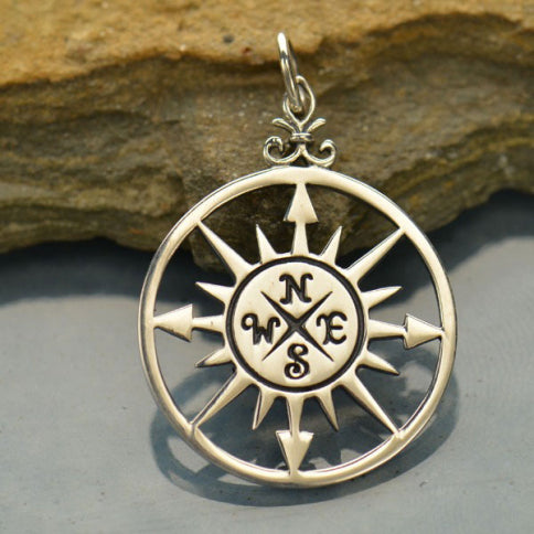 Circle Compass Necklace
