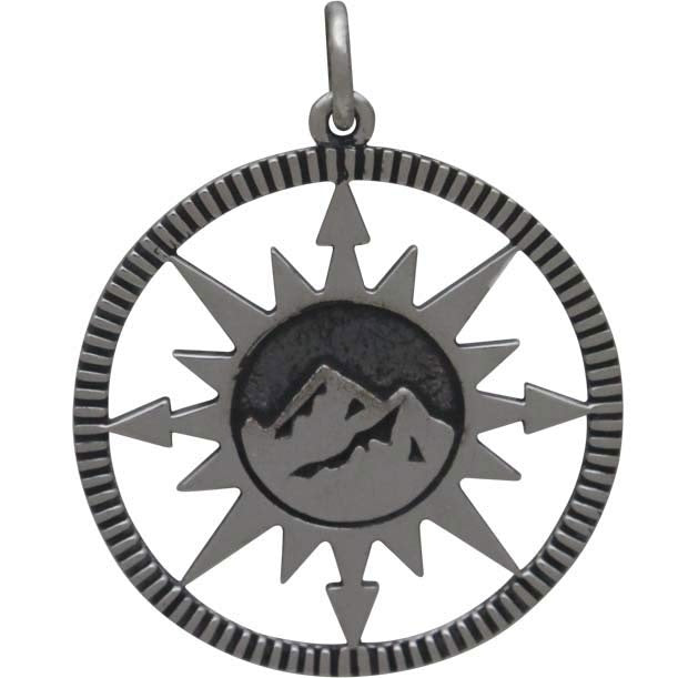 Compass Mountain Necklace