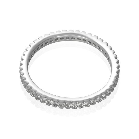 1.9mm CZ Eternity Ring