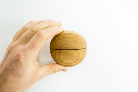 Crease Coat Hook - Maple
