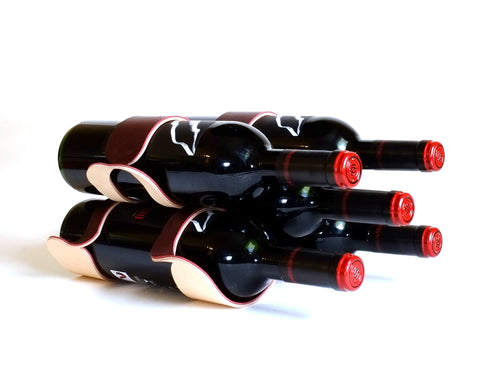 Oenofile - Leather Wine Rack