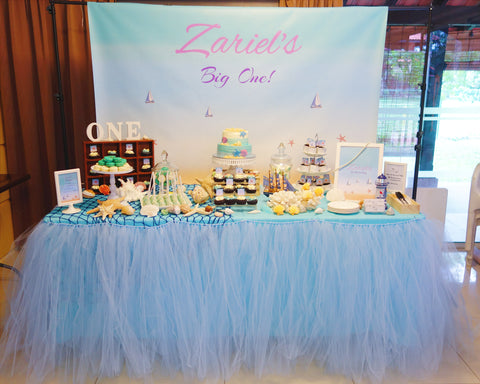 Inspiration For Living In Style Birthday Party Dessert Table Setting