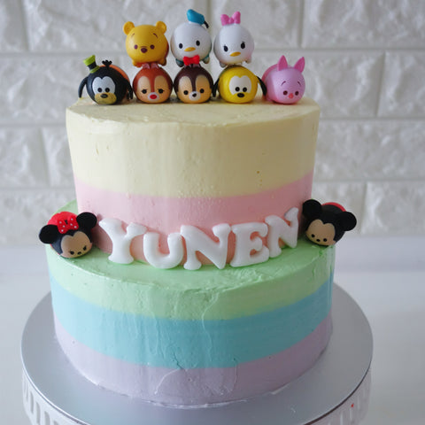 Birthday Cake Disney Tsum Tsum