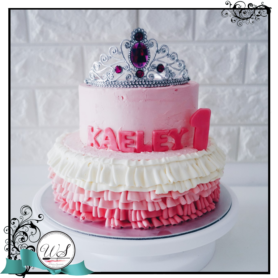 Princess Themed Cake Singaporekids Birthday Cakes Singapore White