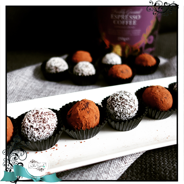 Chocolate Truffles - White Spatula