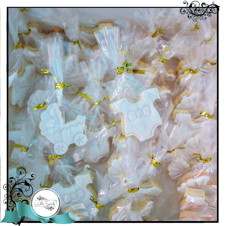 Baby Shower Cookie Favours in Box - WhiteSpatula - 2