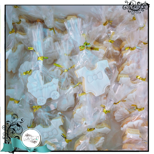 Baby Shower Cookie Favours - White Spatula