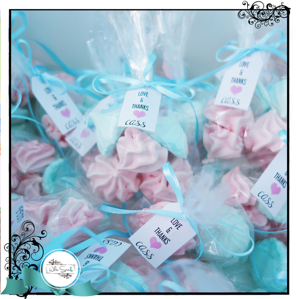 Meringue Favours - White Spatula Singapore