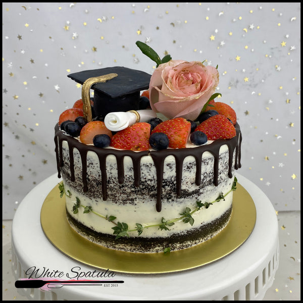 Graduation Buttercream Cake