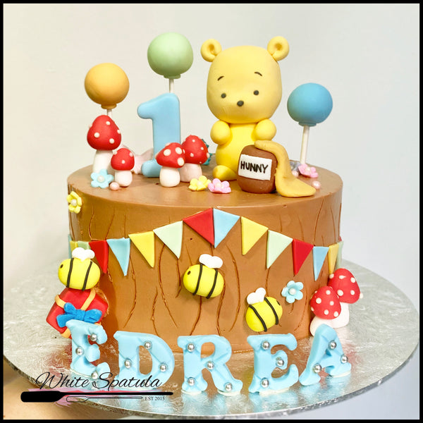 Little Yellow Bear Cake