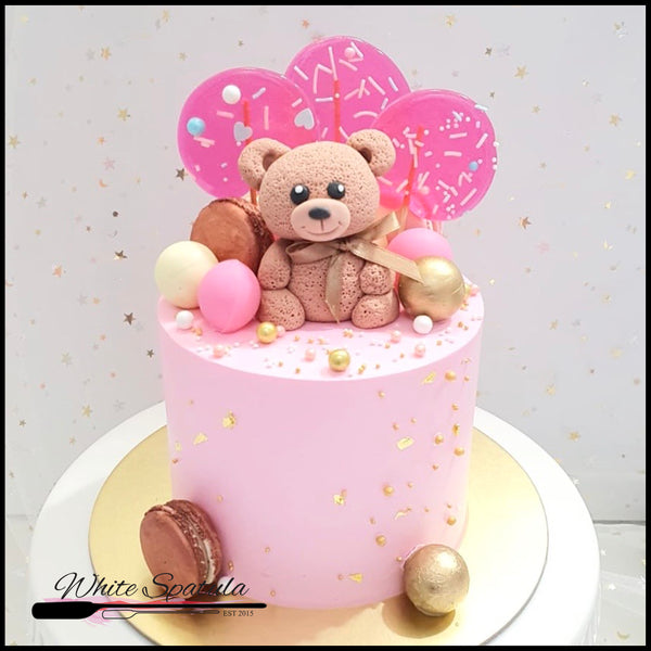 Sweet Bear Buttercream Cake