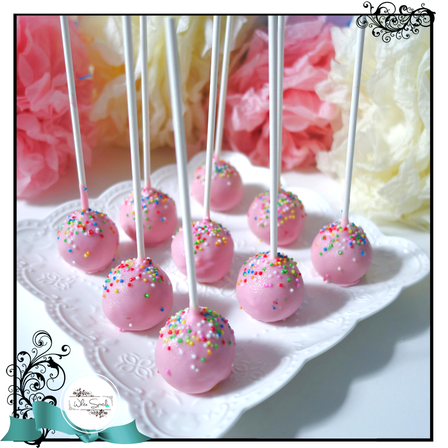 Baby Shower Cake Pops Decorations