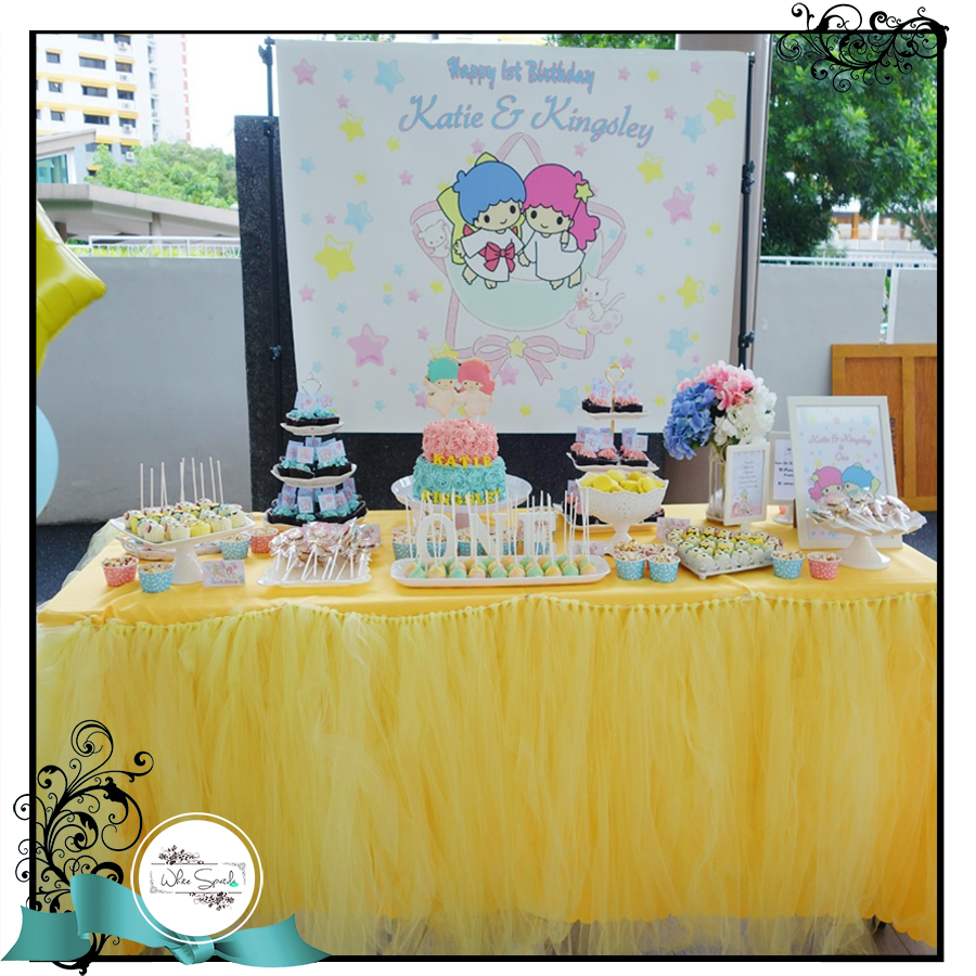 Tulle Tutu Skirting (Rental) - White Spatula Singapore