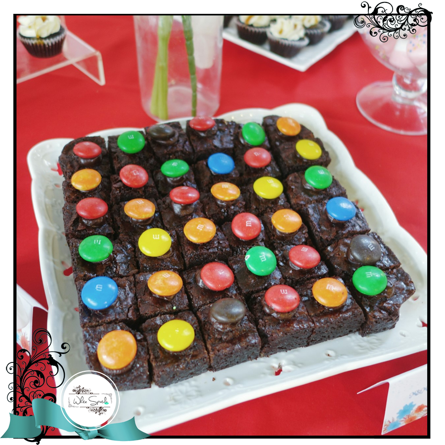 WS Fudgy Brownie Cubes - White Spatula Singapore