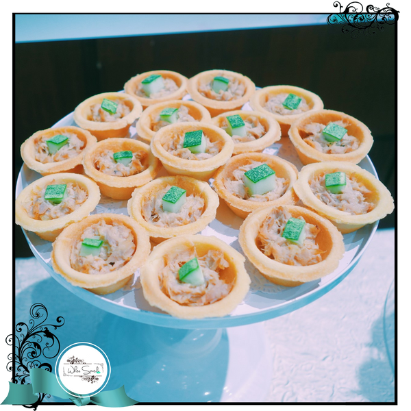 Tuna Mayo Tartlets with Cucumber - White Spatula Singapore