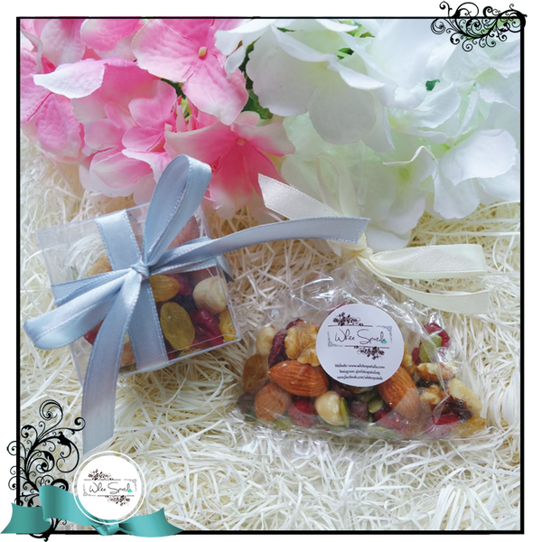 Nut and Dried Fruit Favours - White Spatula Singapore