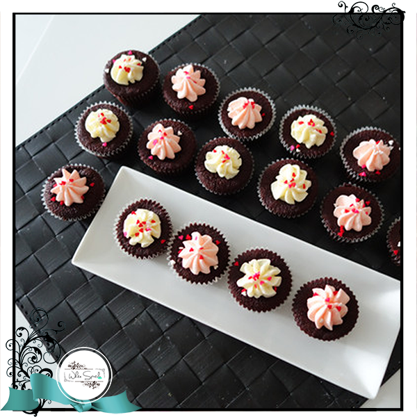 Mini Cupcakes - White Spatula Singapore
