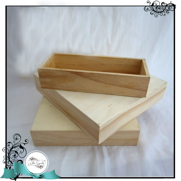Wooden Trays - White Spatula Singapore