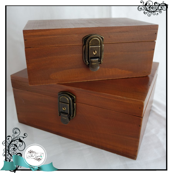Wooden Boxes - White Spatula Singapore