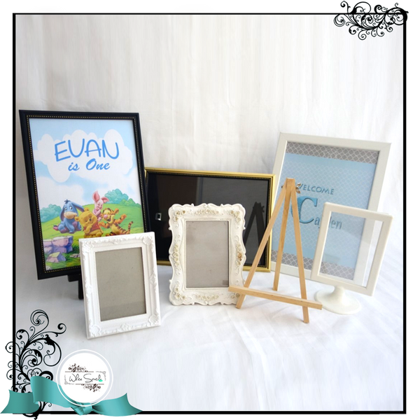 Photo Frames and Easels - White Spatula Singapore