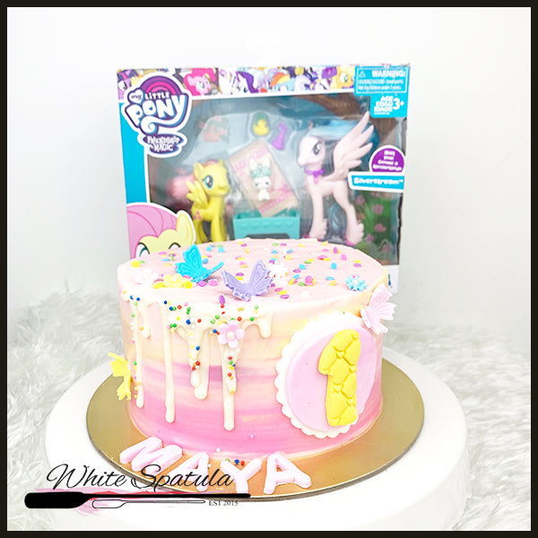 DIY Cake (free Authentic My Little Pony toys) - White Spatula Singapore