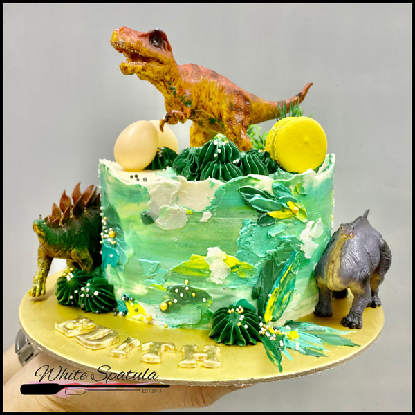 Limited Edition Dinosaur Buttercream Cake