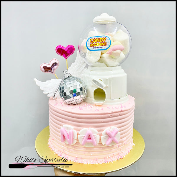 Candy Machine Buttercream Cake