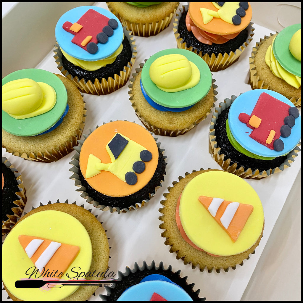 Constructions Cupcakes