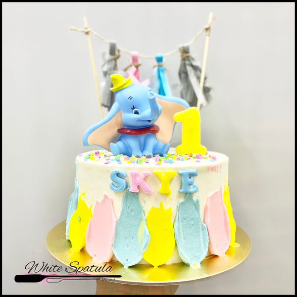 Elephant Buttercream Cake