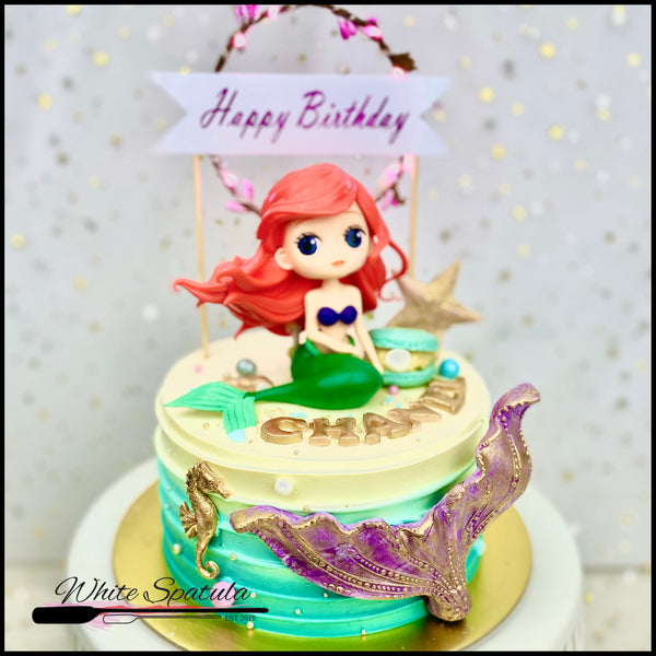 Magical Mermaid Buttercream Cake