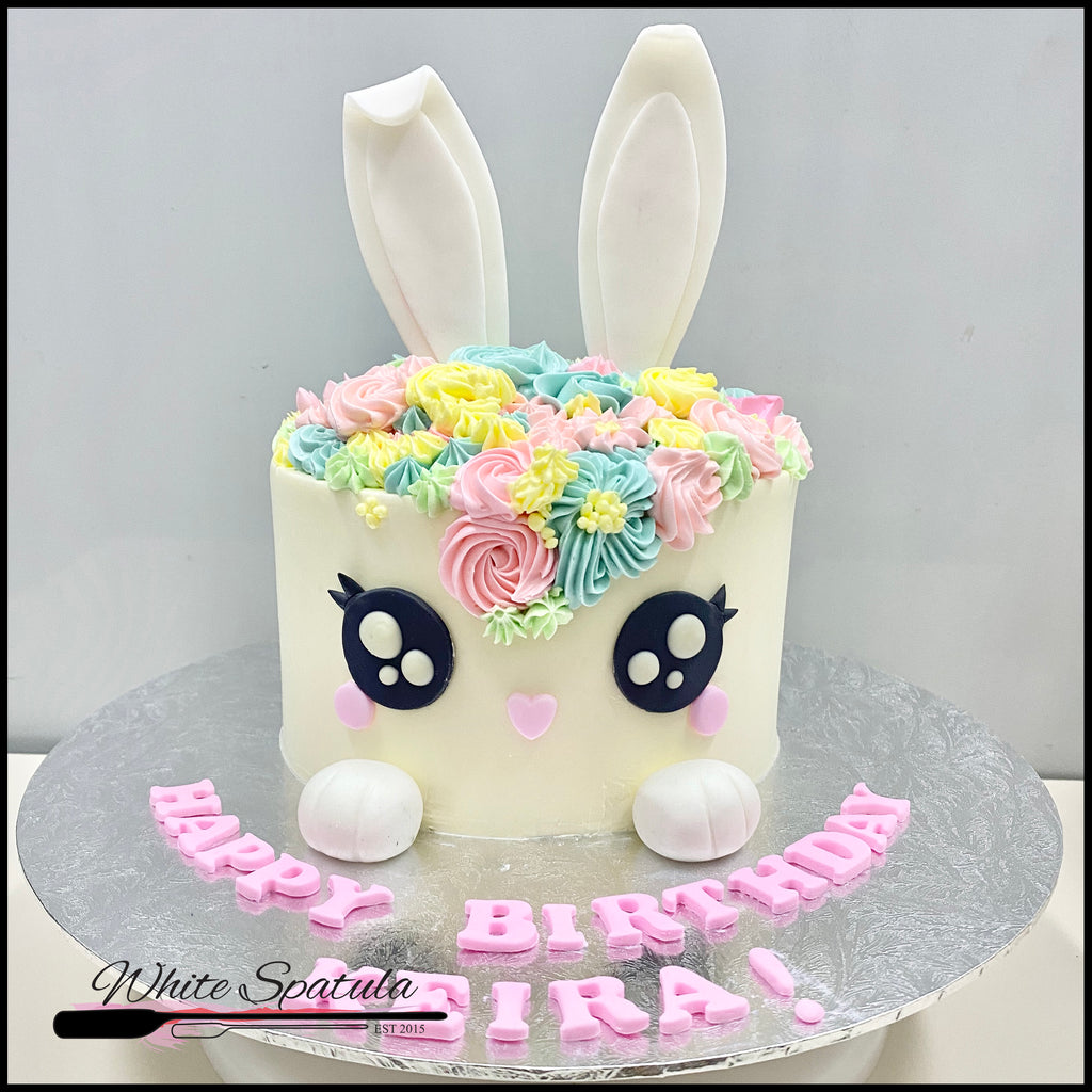 Easter Bunny Buttercream Cake