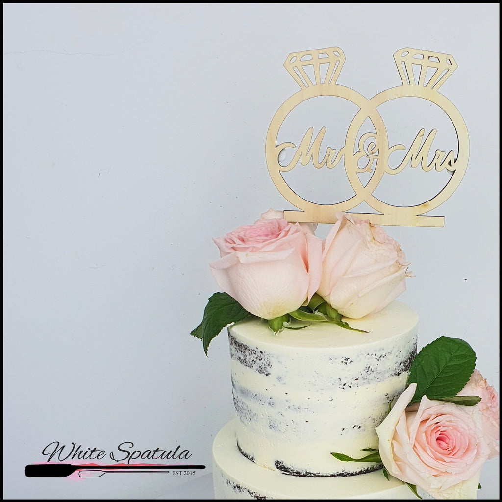 Wedding Cake - White Spatula Singapore