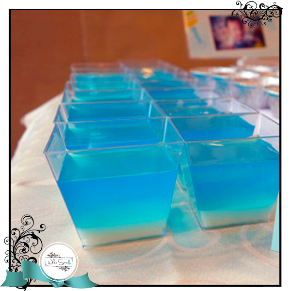 Jello in shooter cups - White Spatula Singapore