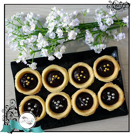 Tarts-Chocolate Ganache - White Spatula Singapore