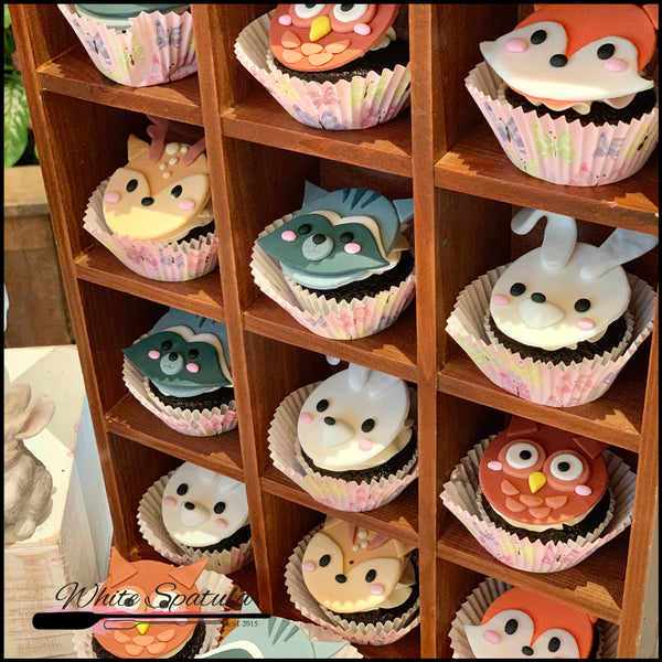 2D Enchanted Animal Cupcakes