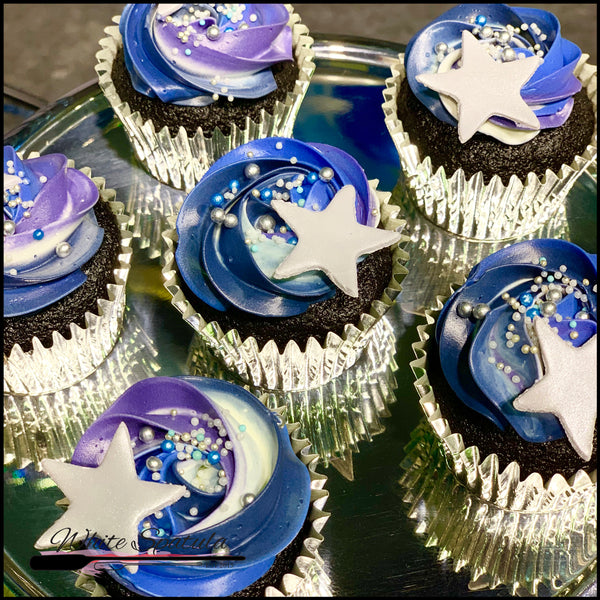 Galaxy Cupcakes - White Spatula Singapore