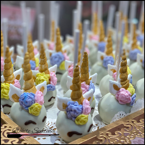 Unicorn Cake Pops - White Spatula Singapore